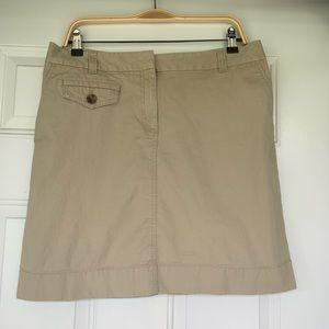 Ann Taylor Khaki Skirt - size 12